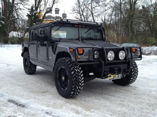 Hummer-Schnee
